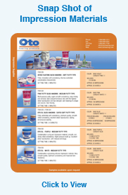 Oto Impression Supplies Sheet right